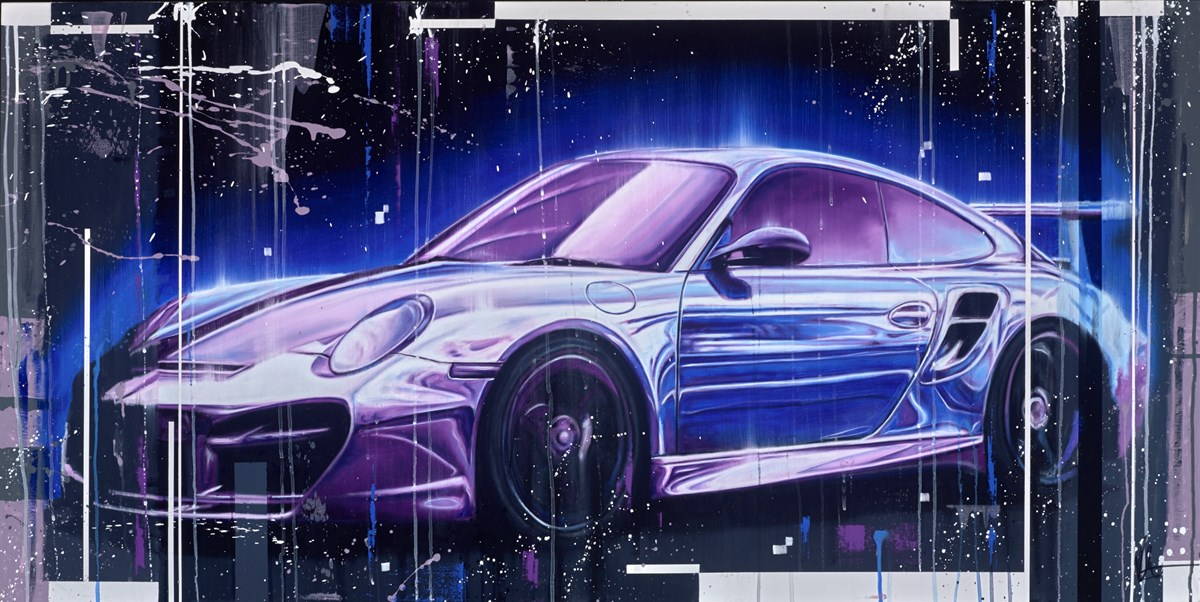 911 Turbo by kris hardy -  sized 56x28 inches. Available from Whitewall Galleries